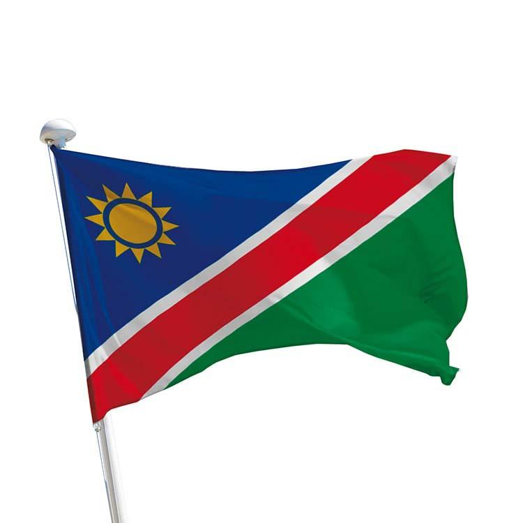 Drapeau Namibie pour mât