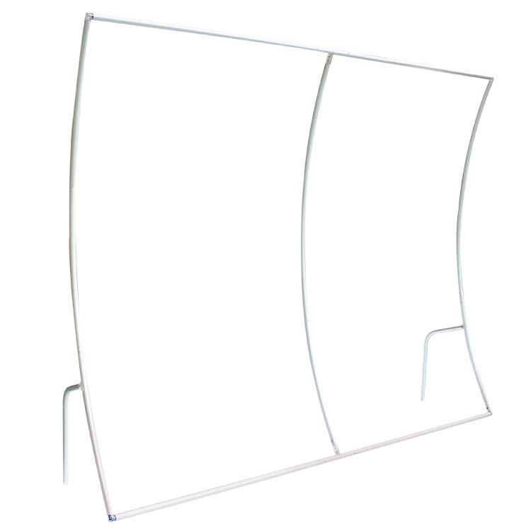 Structure du Mur d'image courbe verticale