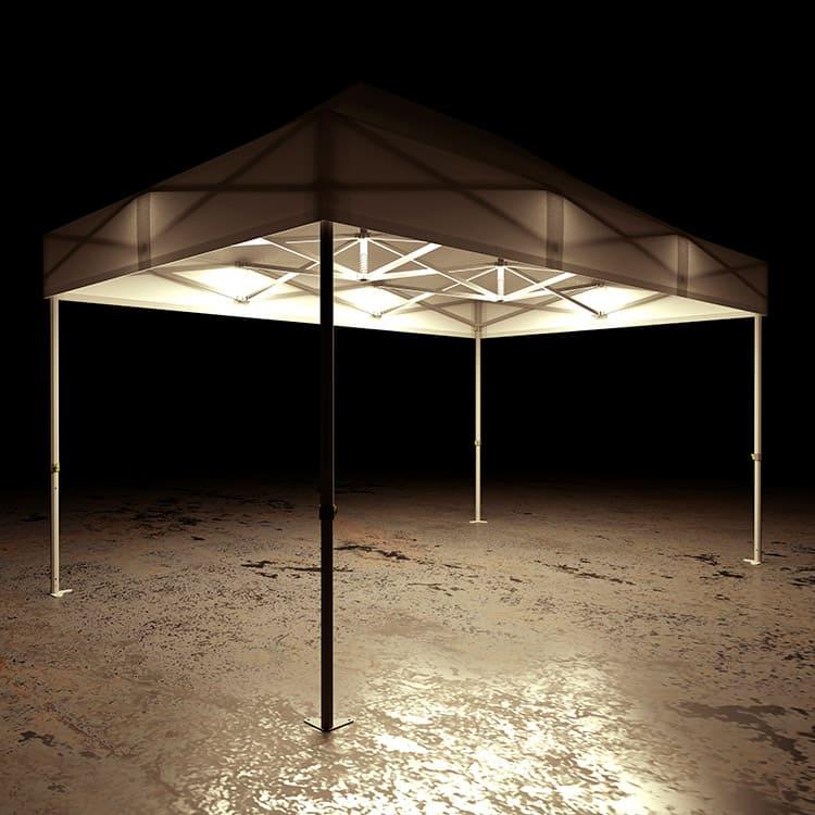 Barnum pliant Octo LED 3 x 3 m