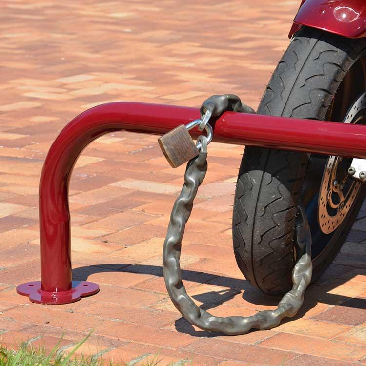 Arceau pour motos cadenas