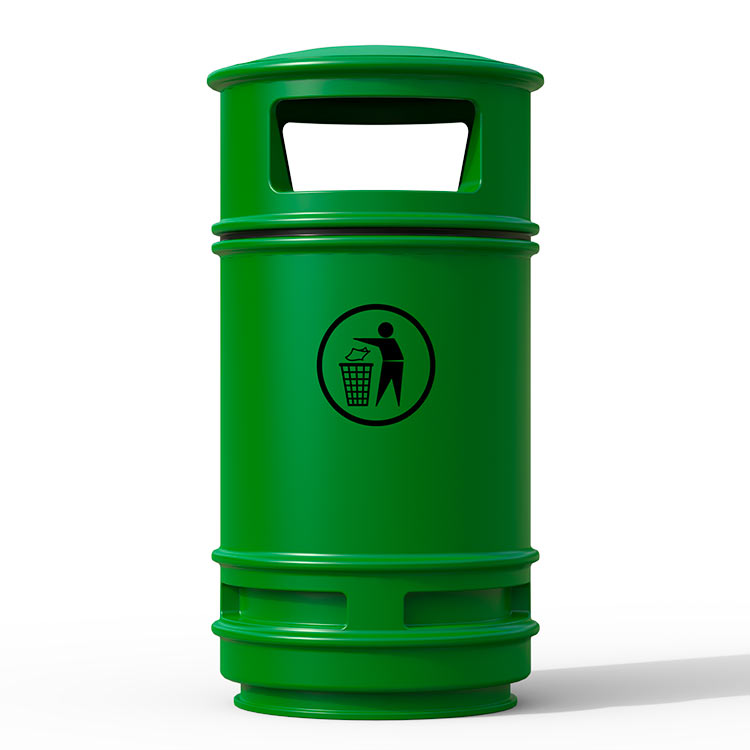 Corbeille Centauro Vert - 90 litres
