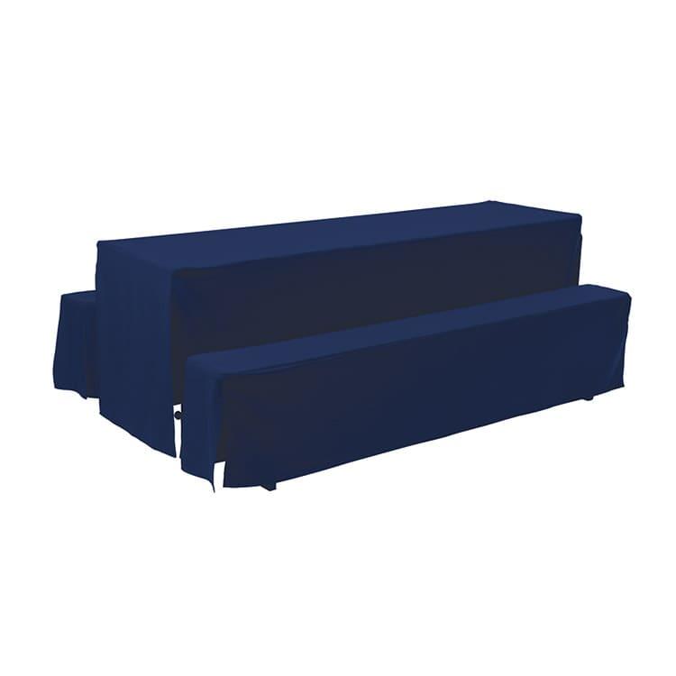 Housse d'habillage bleu foncé en polyester M4 220 x 27 cm