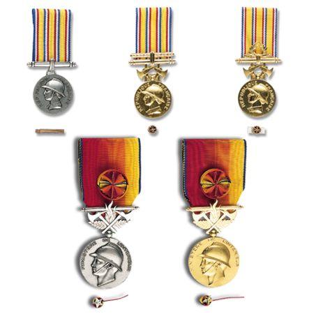 médailles d'honneur des sapeurs-pompiers