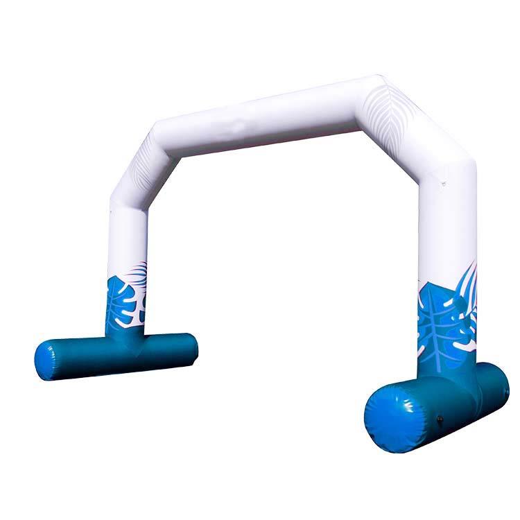 Arche gonflable flottante Reverso de face