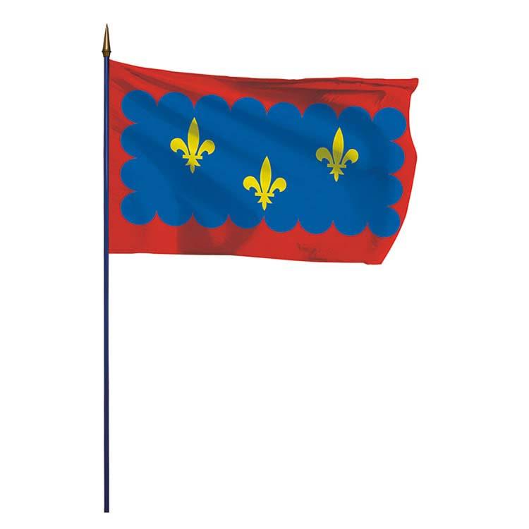 Drapeau de la province du Berry