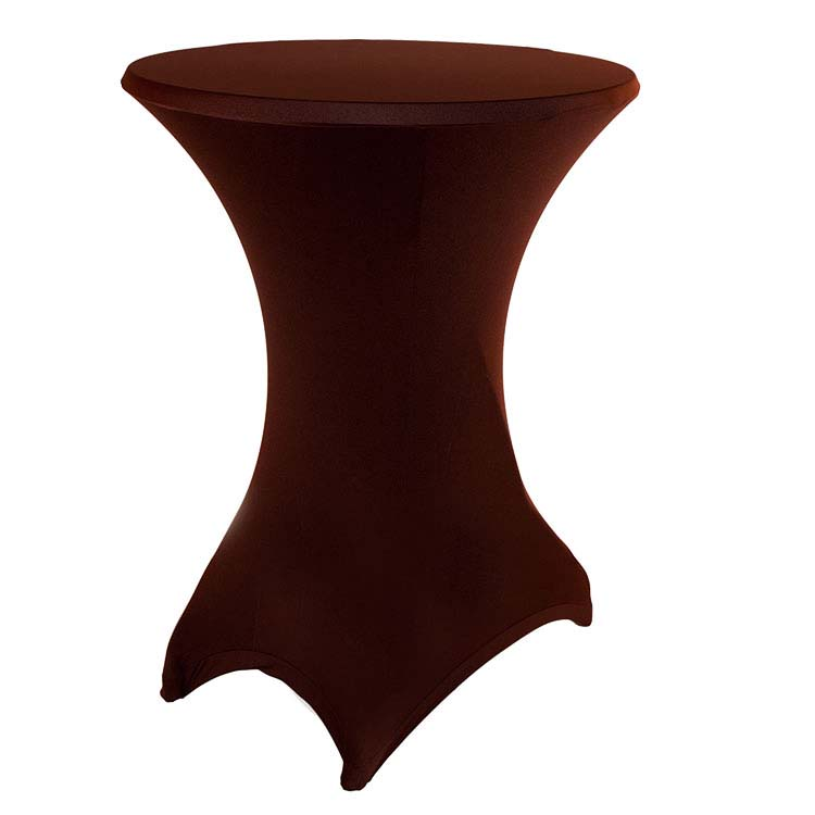 housse chocolat pour mange-debout