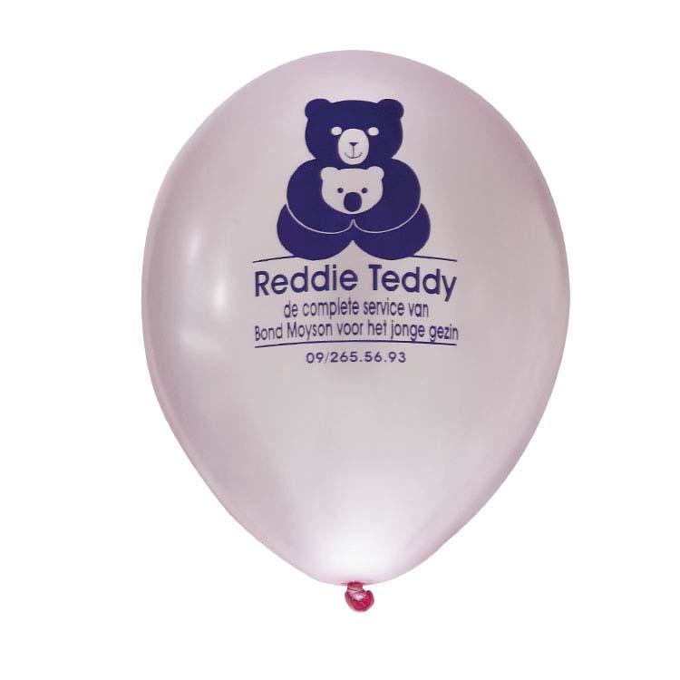 Ballon de baudruche gonflable imprimé