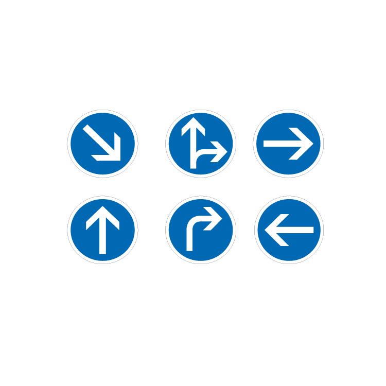 Panneaux de signalisation type B obligation