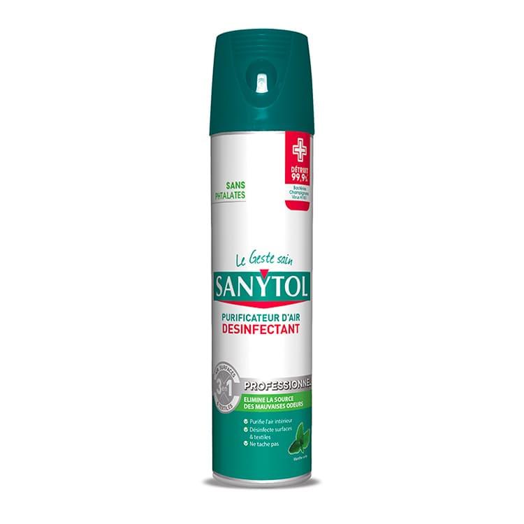 Aérosol purificateur d'air Sanytol 600 ml