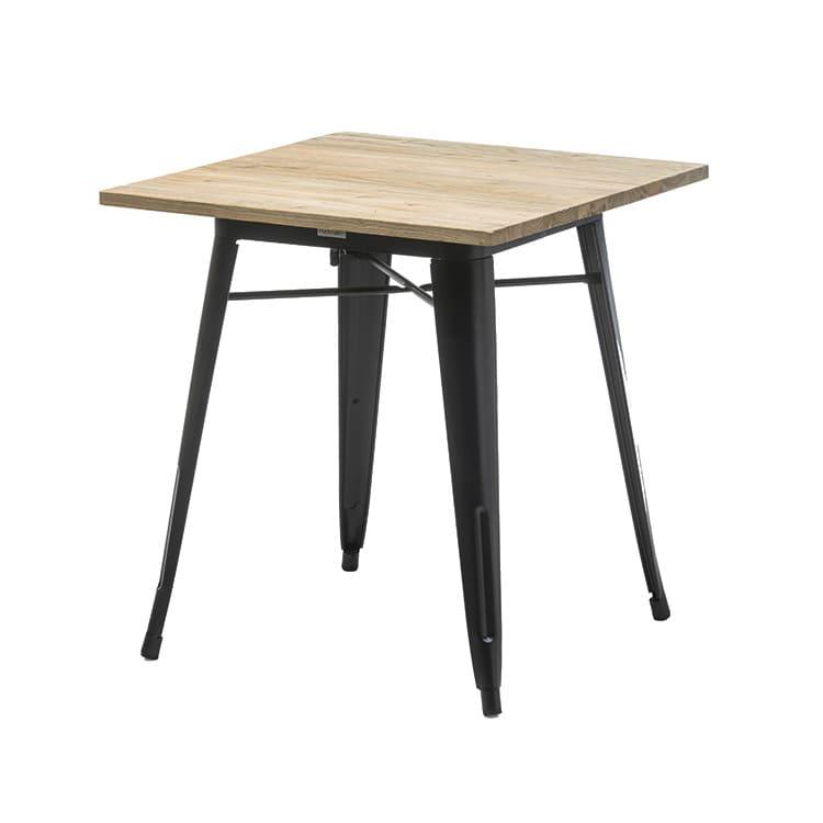 Table de réception Tolix orme