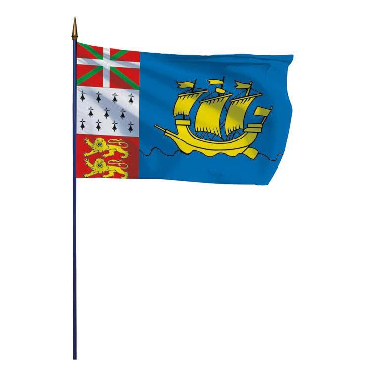 Drapeau de la province de Saint Pierre et Miquelon