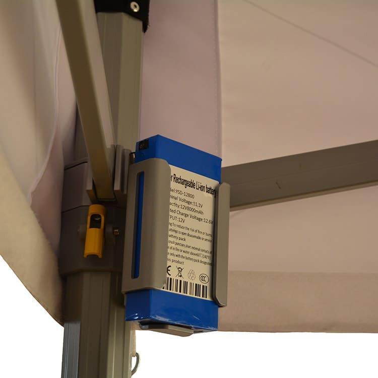 Barnum pliant Octo LED - batterie ambiance