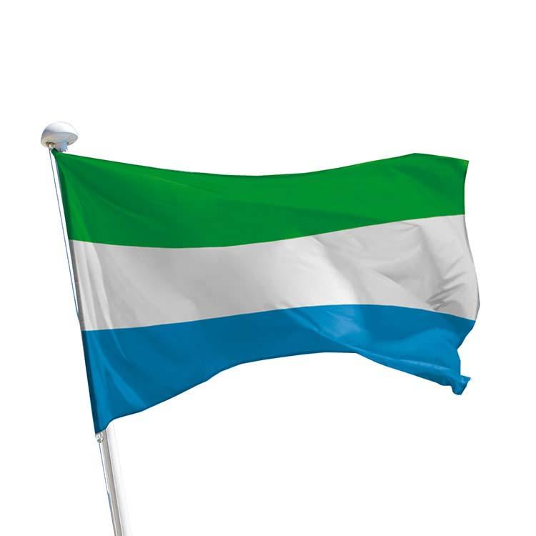 Drapeau Sierra Leone pour mât