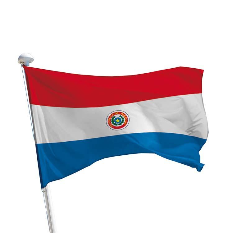 Drapeau Paraguay pour mât