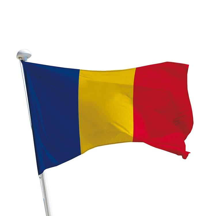 Drapeau Roumanie pour mât