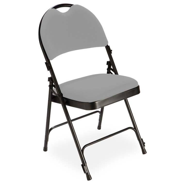 Chaise 2600 velours M1 gris