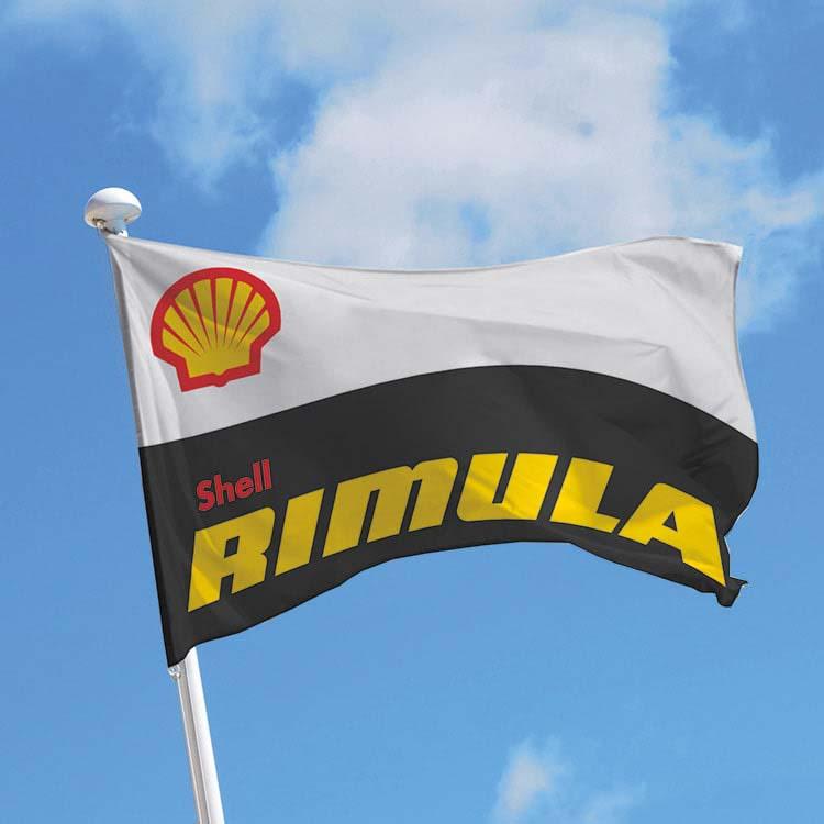 Impression logo sur drapeau pour mât