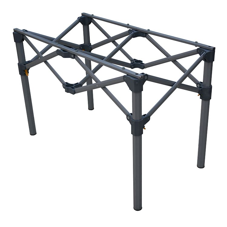 Structure table comptoir pliante