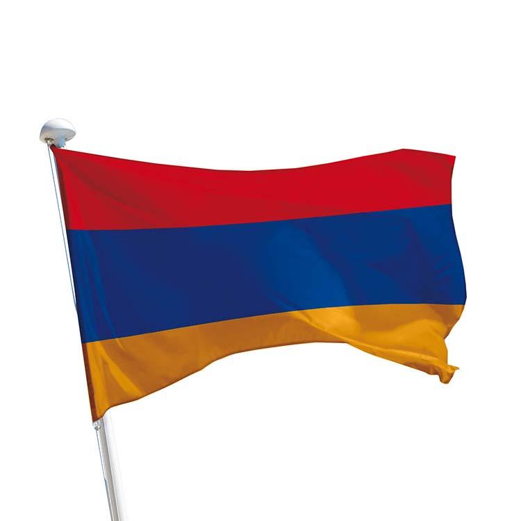 Drapeau Arménie pour mât