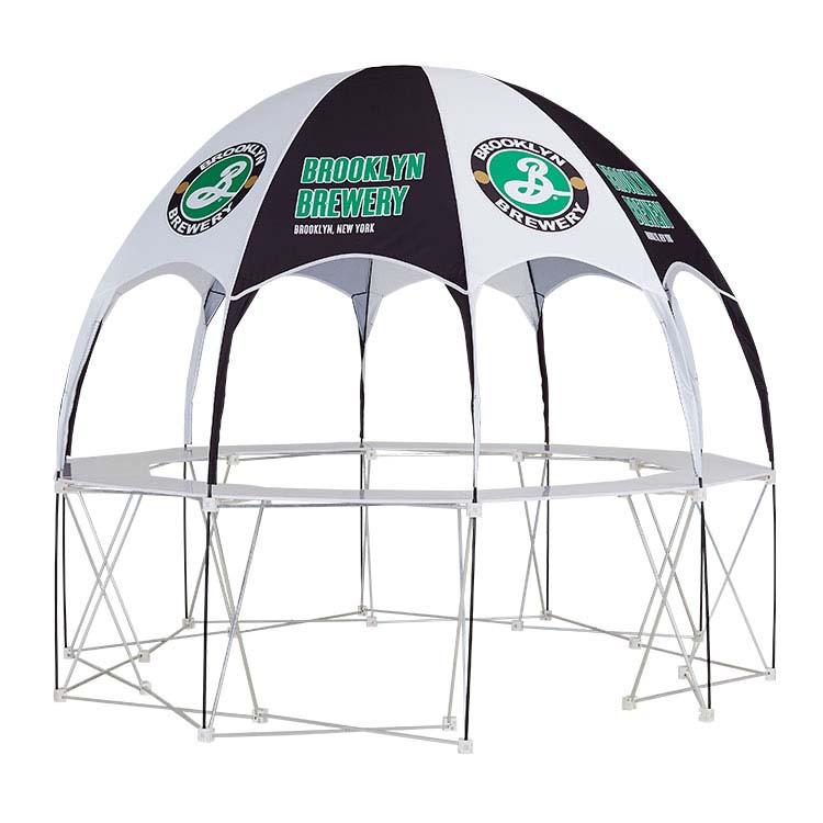 Structure de la tente publicitaire