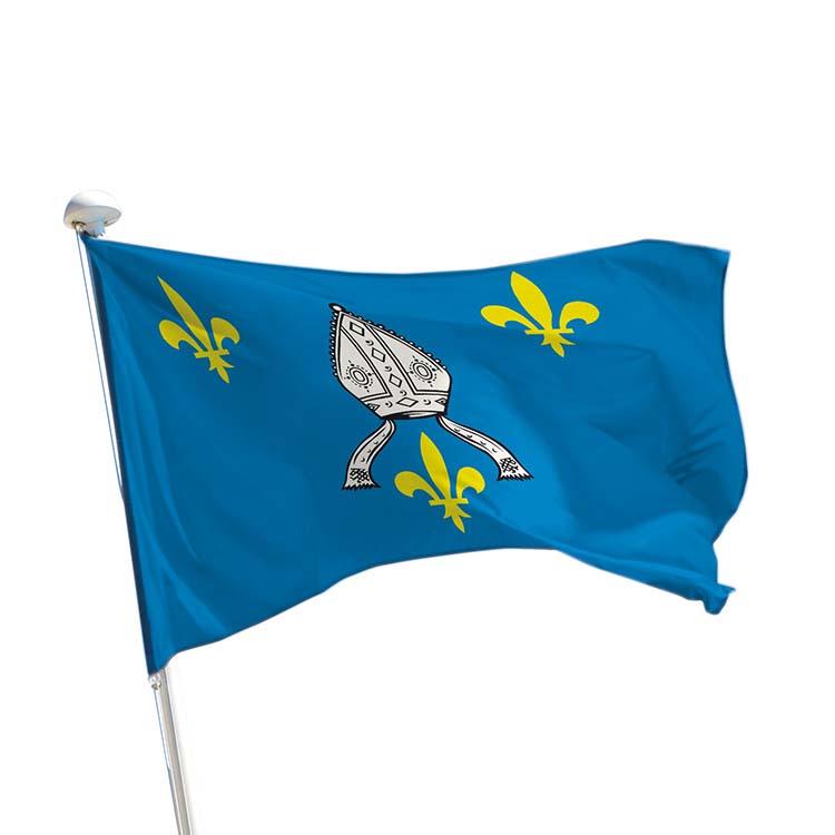 Drapeau province Saintonge pour mât