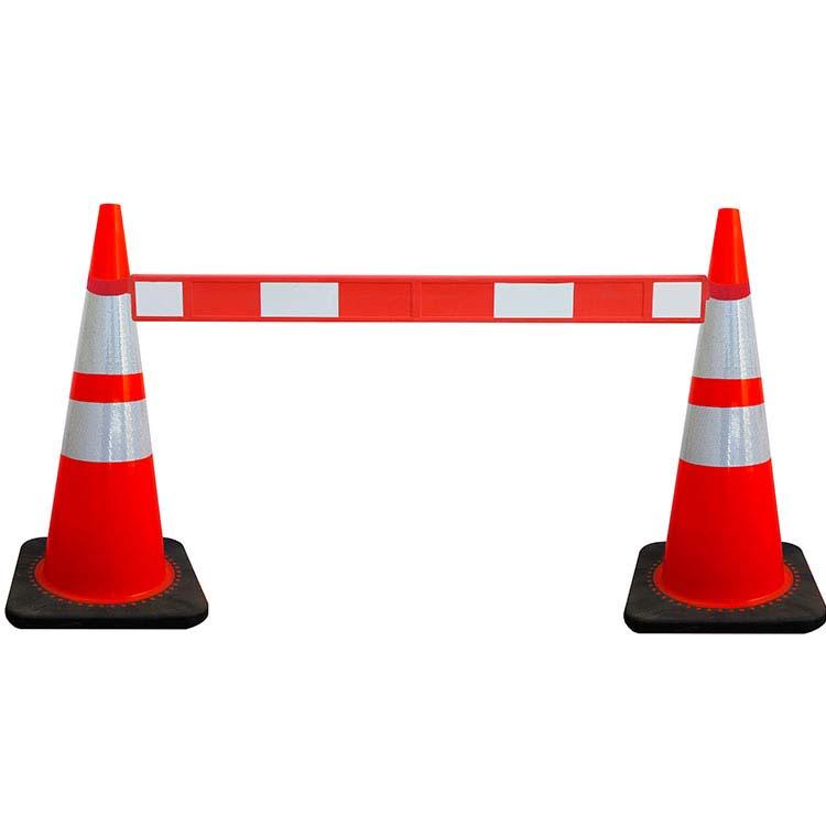Lisse de sécurité pour cône de signalisation