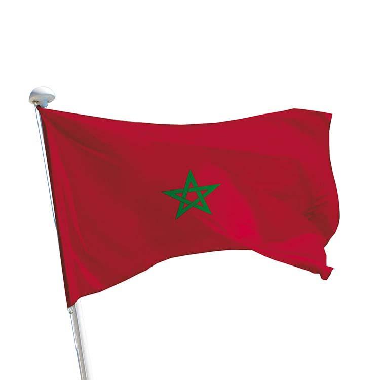 drapeau du Maroc / marocain