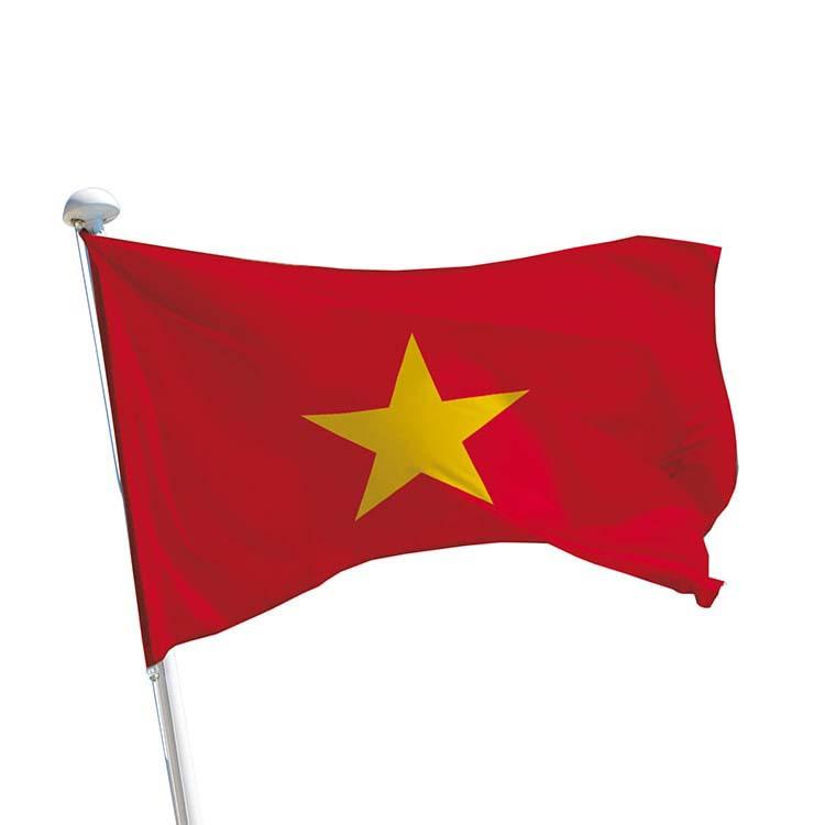 Drapeau Vietnam pour mât