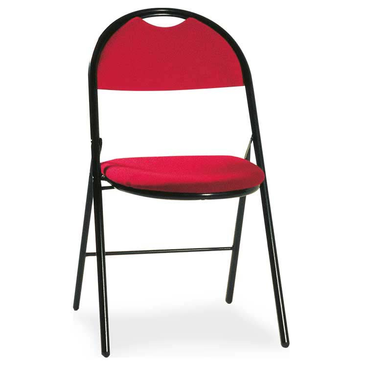 Chaises Roma standard rouge M4