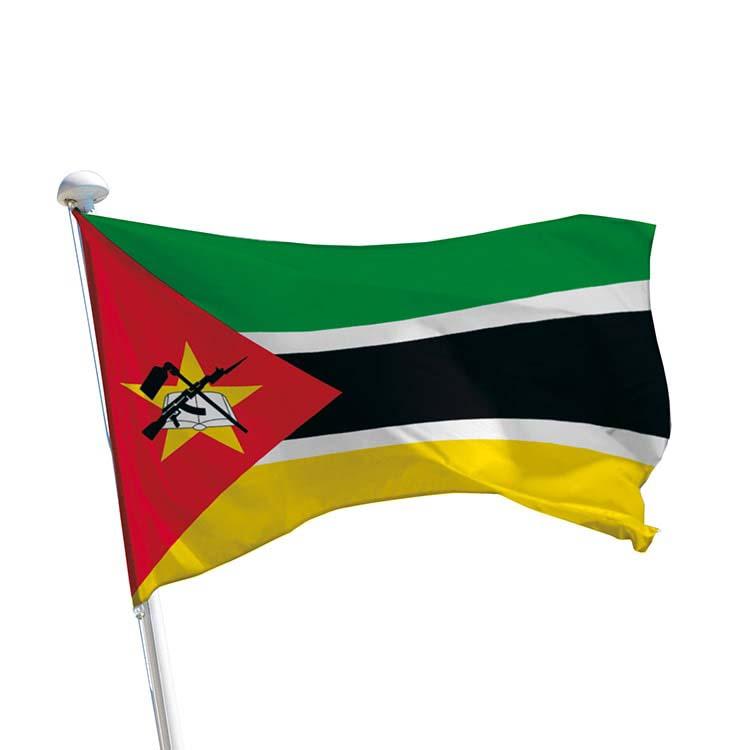 Drapeau Mozambique pour mât