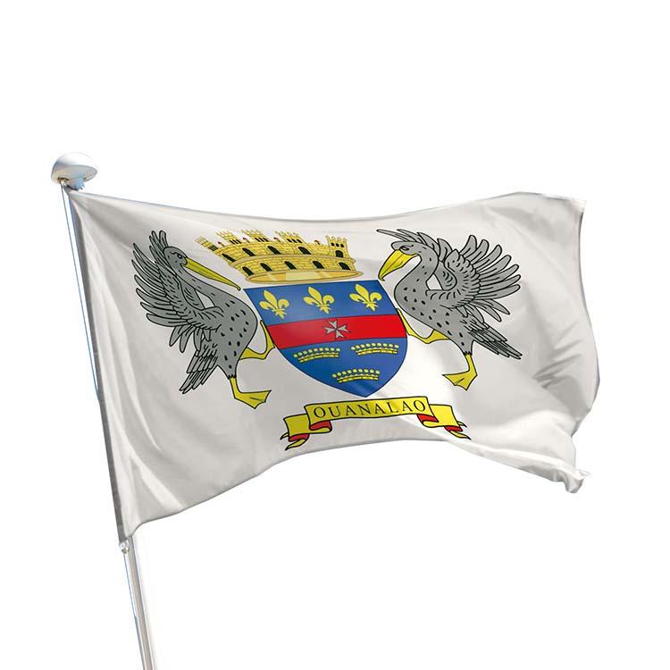 Drapeau province Saint Barthélémy pour mât