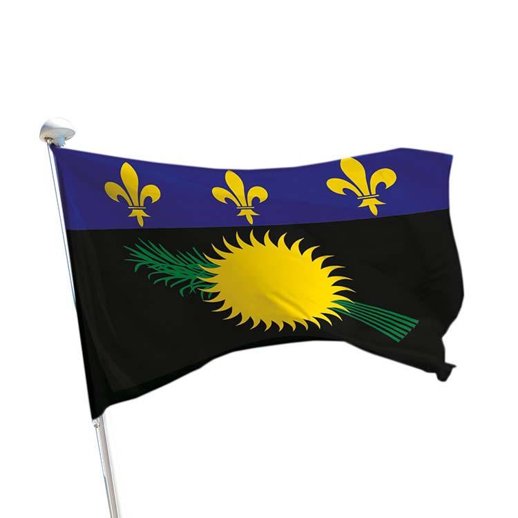 Drapeau province Guadeloupe pour mât