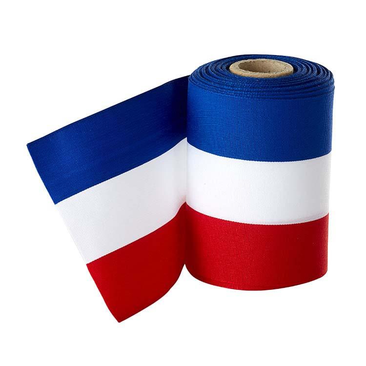 Ruban français longueur 10 m Largeur 10 cm