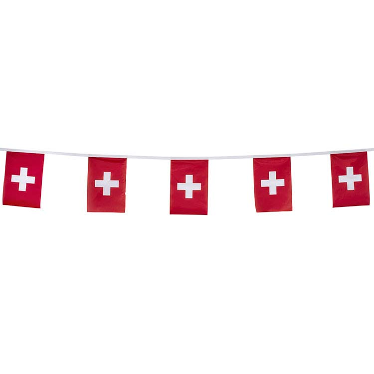 Guirlande tissu Suisse