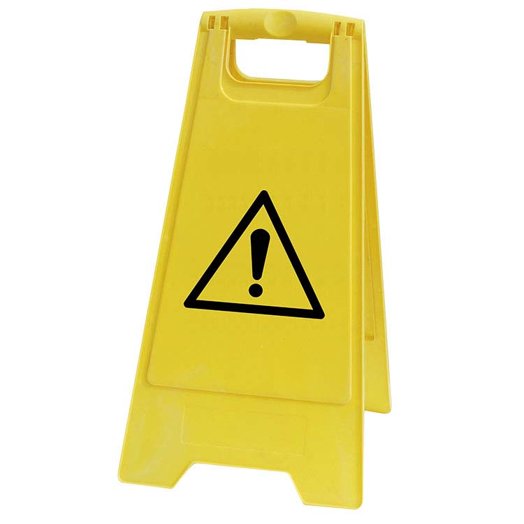 Chevalet de signalisation Danger