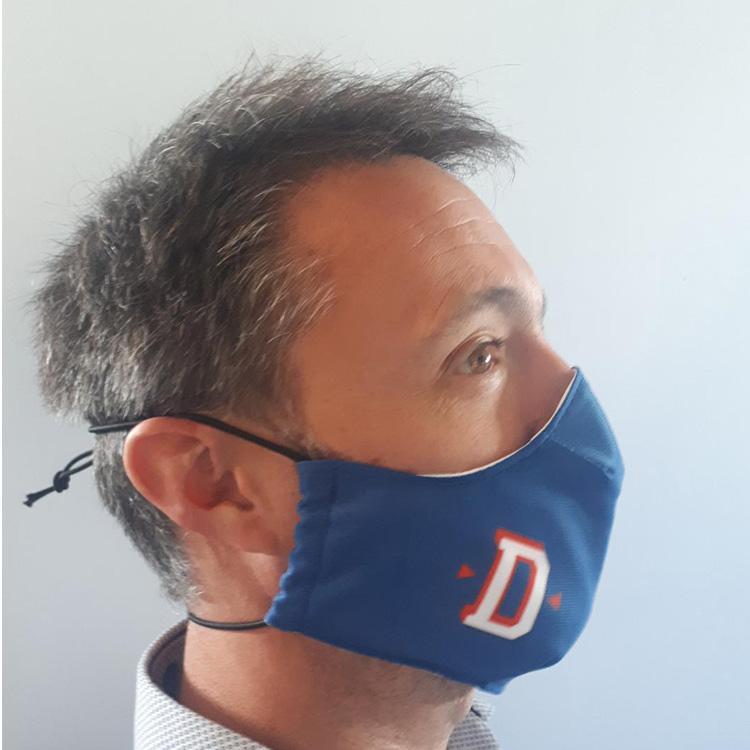Masque tissu ColleKtor personnalisable fixation