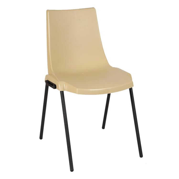 chaise coque 39 in empilable et assemblable 4 coloris doublet. Black Bedroom Furniture Sets. Home Design Ideas
