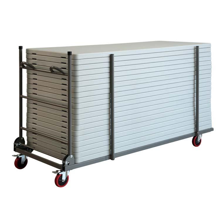 Chariot pour tables duralight 122 x 61 cm