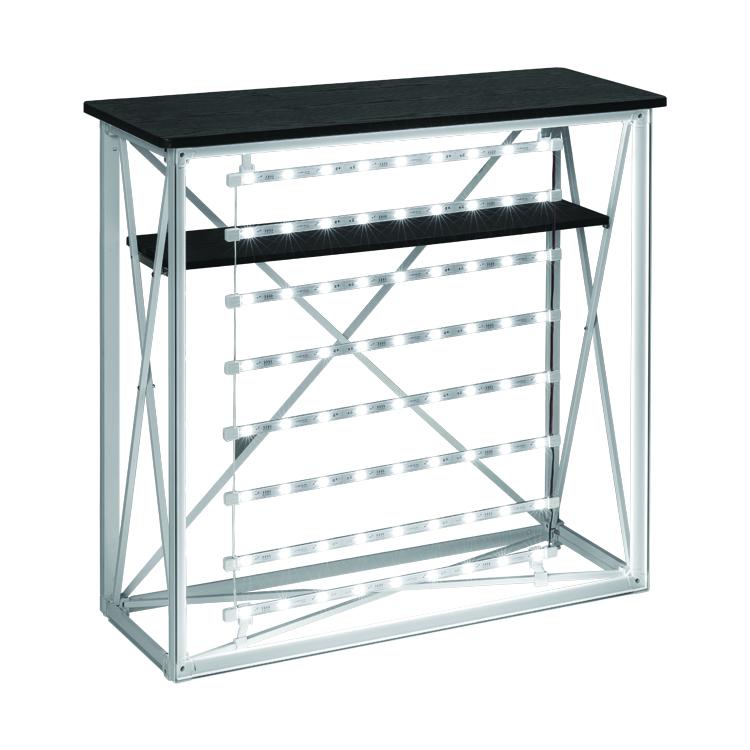 Structure aluminium de la Banque d'accueil Led