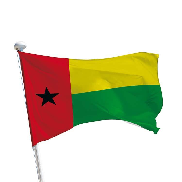 Drapeau Guinée-Bissau pour mât