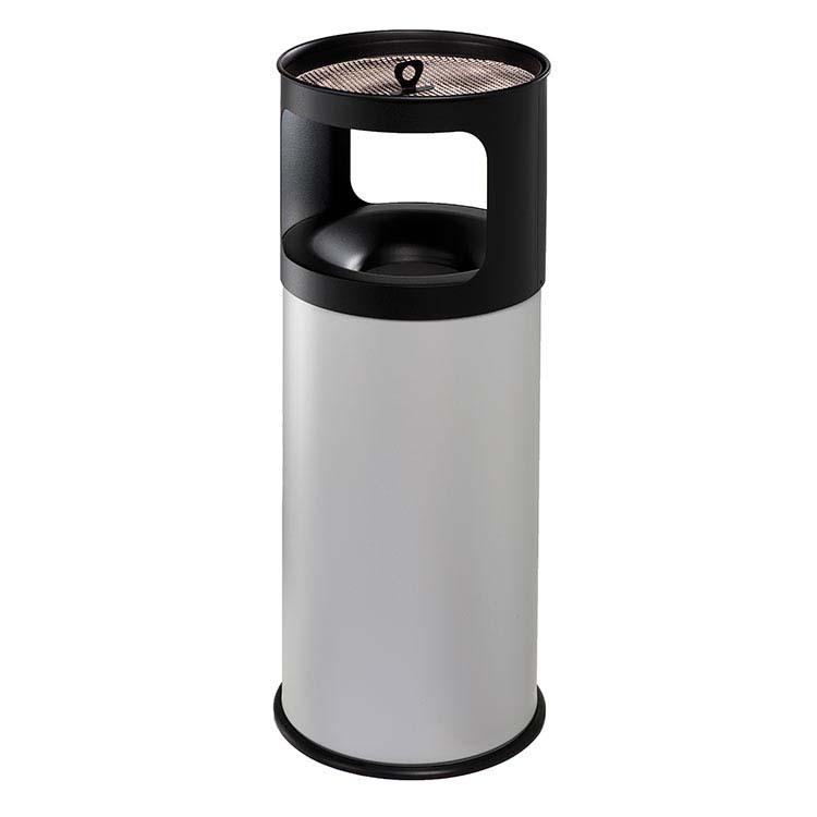 Cendrier Corbeille Autoextint gris - 50 litres