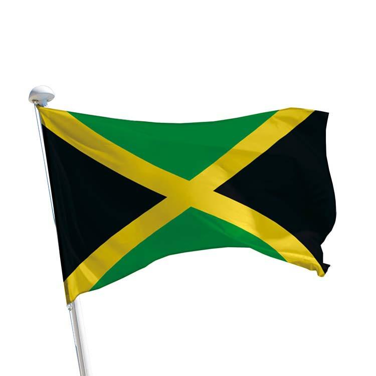 Drapeau Jamaïque pour mât