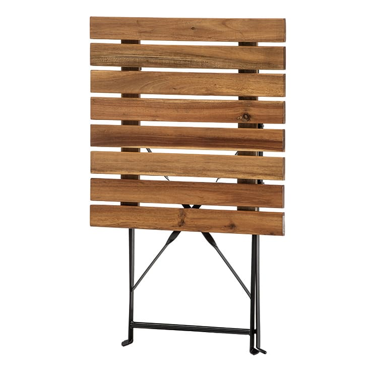 Table pliante Bistrot pliée