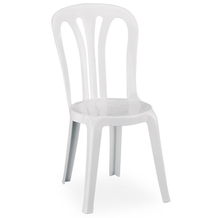 chaise catering blanche - Vente De Chaises