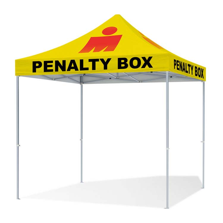 Tente pliante penalty box