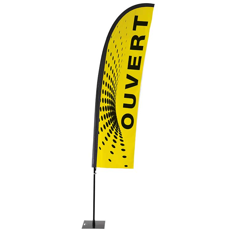 Kit beach Flag Playa II - Ouvert