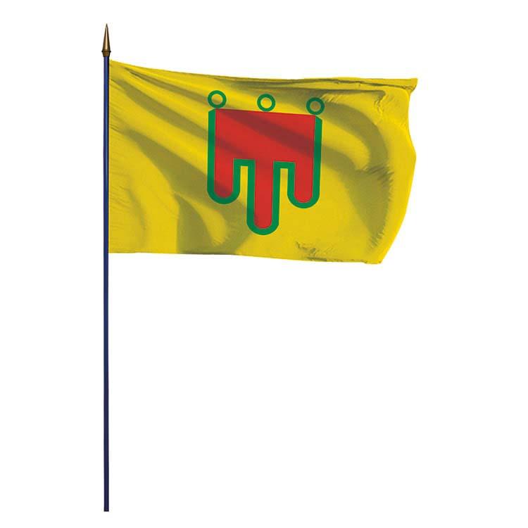 Drapeau de la province d'Auvergne