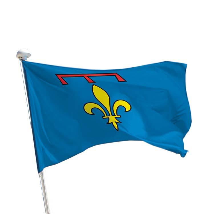 Drapeau province Provence pour mât (lys)