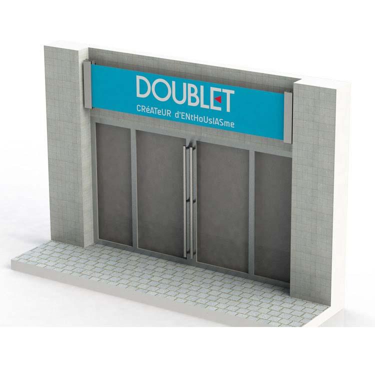 Support Rollerban - dessus de porte de garage