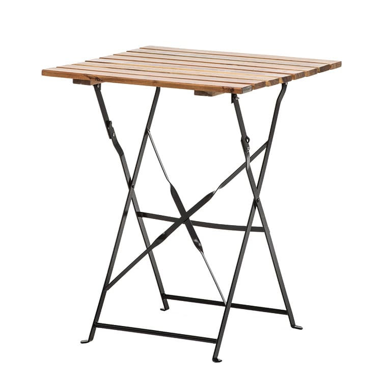 Table pliante Bistrot l. 60 x p. 60 x h. 74 cm